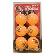 JOOLA Rossi Three Star 6 Pack - Orange at Kmart.com