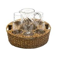 Artland® Summer Garden Serving Set (6 Glasses w/ Pitcher & Tray) at Kmart.com
