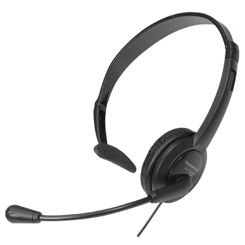 KX-TCA400 Lightweight Microphone Headset for Telephones
