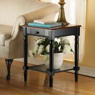French Country End Table by Convenience Concepts,Inc. at Sears.com