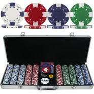 Trademark Poker 500 Chip Ace/King Suited 11.5g Set w/Aluminum Case at Kmart.com