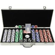 Trademark Poker 650 11.5G Holdem Poker Chip Set w/Executive Aluminum Case at Kmart.com