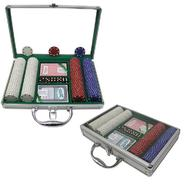 Trademark Poker 200 11.5g SUITED Chips w/Clear Cover Aluminum Case at Kmart.com