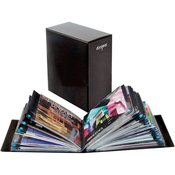 100-CD/DVD Literature Album- 7000-30