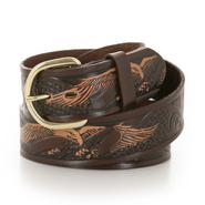 Wrangler Men's Big & Tall Hand Painted Belt with Eagle Emboss at Kmart.com