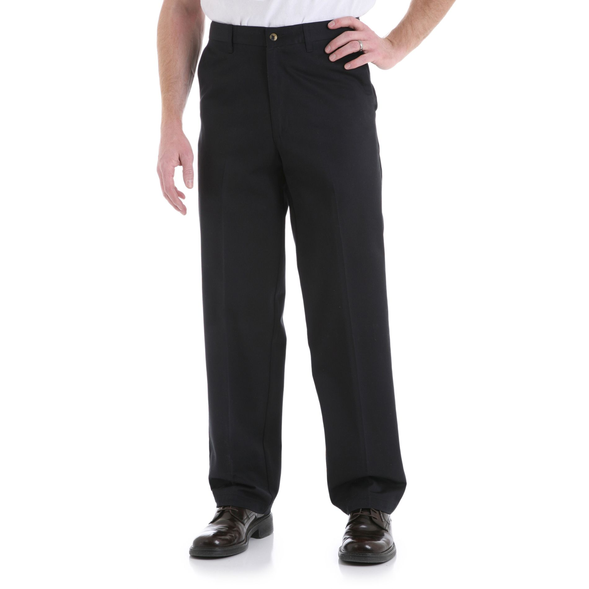 Men's Casual Fit Flat Front Pant