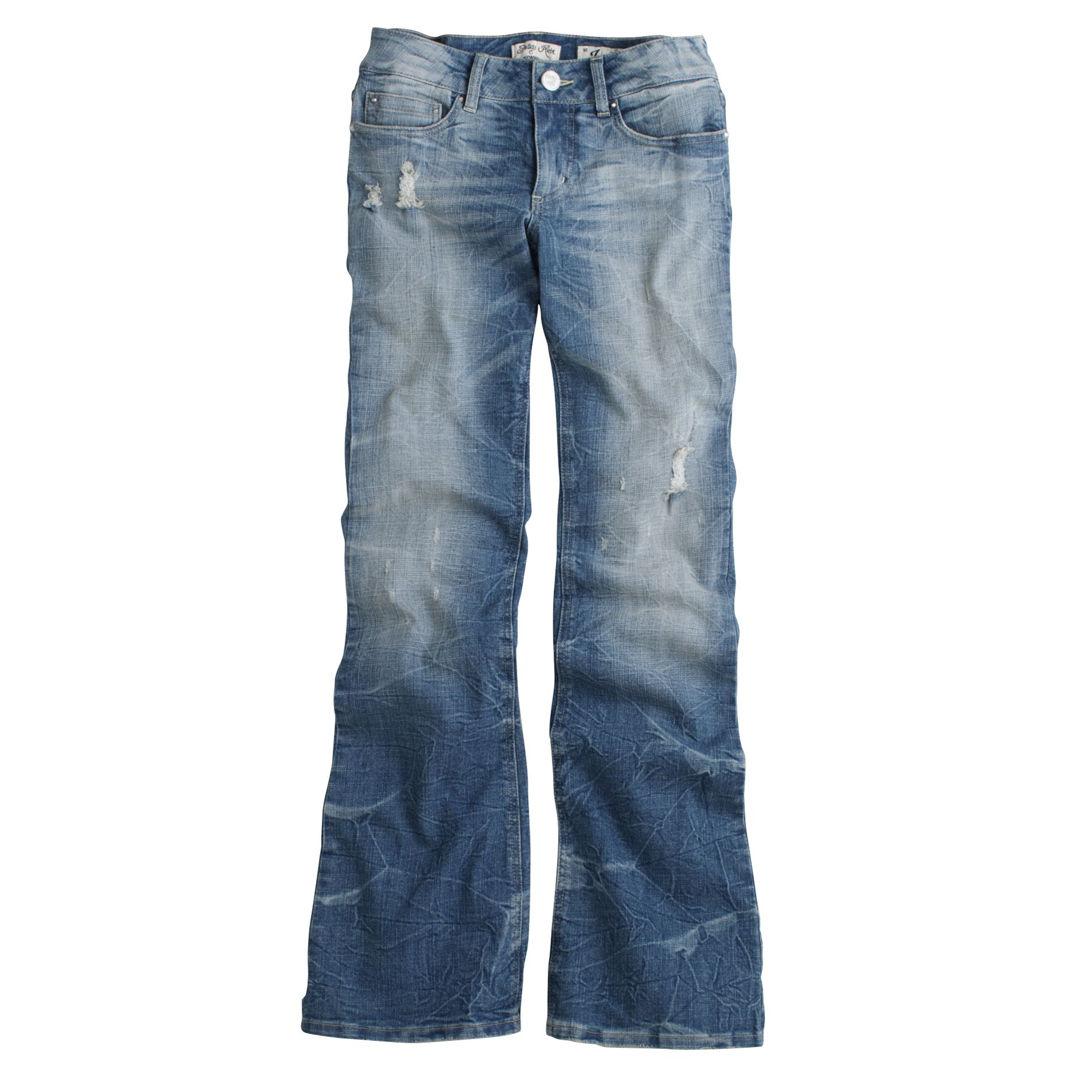 Bongo Junior's Crinkled Flare Jean at Sears.com