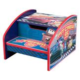 Disney Cars Lightning McQueen Step Stool With Storage at mygofer.com