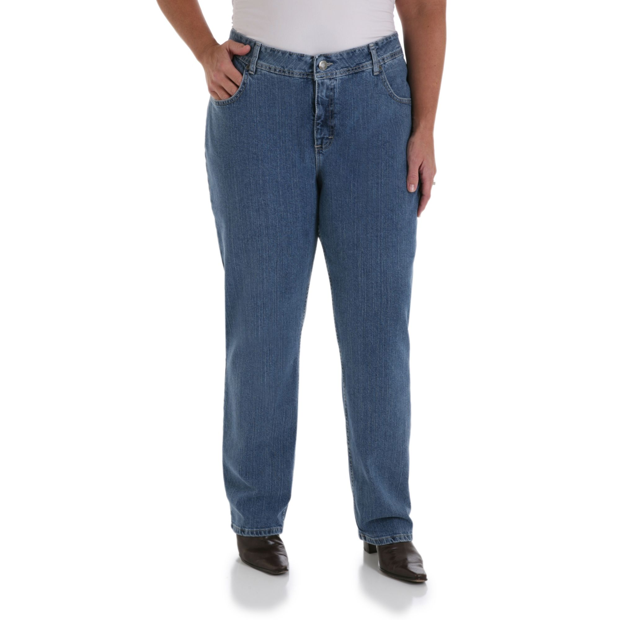 Rider Women's Plus 5 Pocket Relaxed Fit Jean at Kmart.com