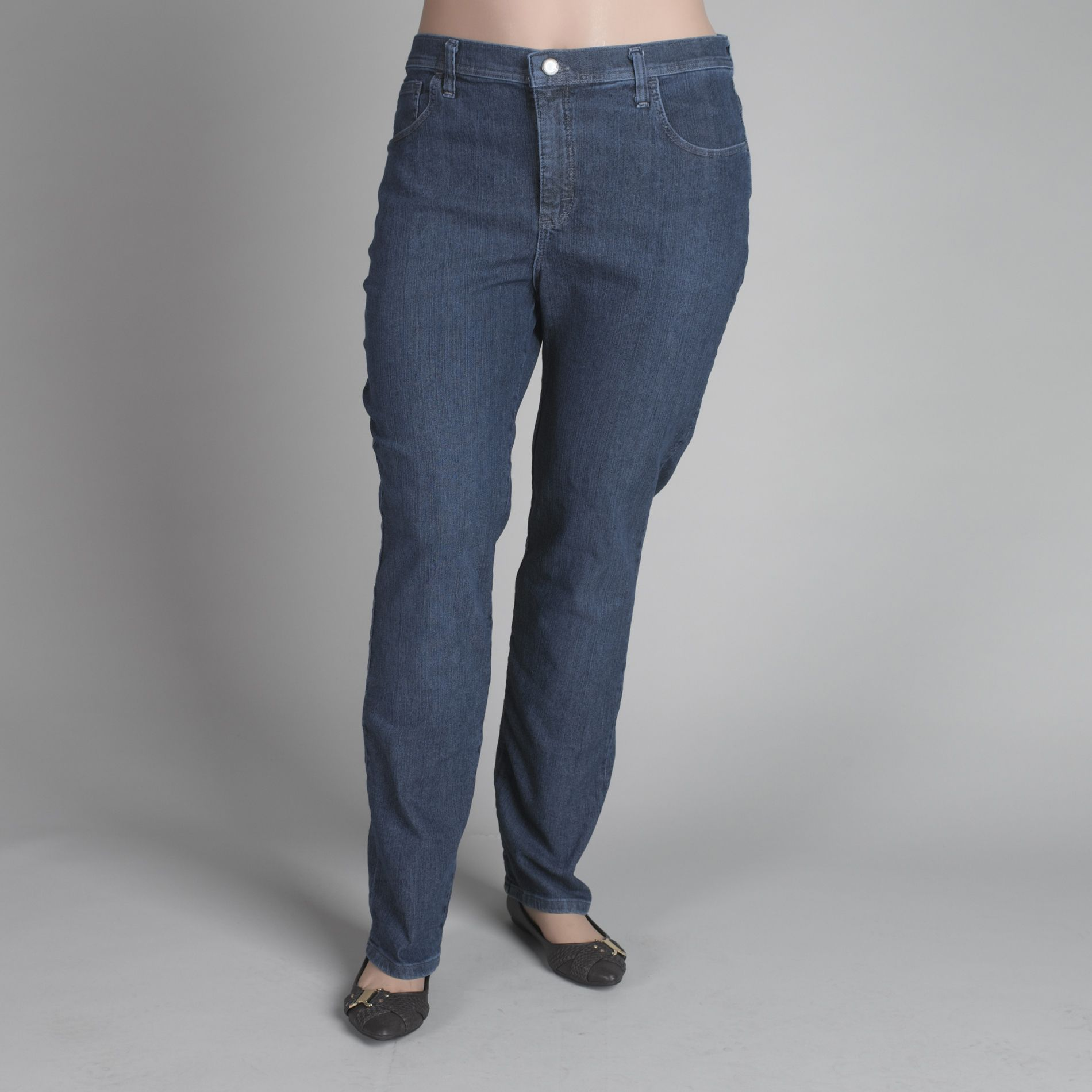 LEE Women's Plus Classic Fit Straight Leg Jeans at Sears.com