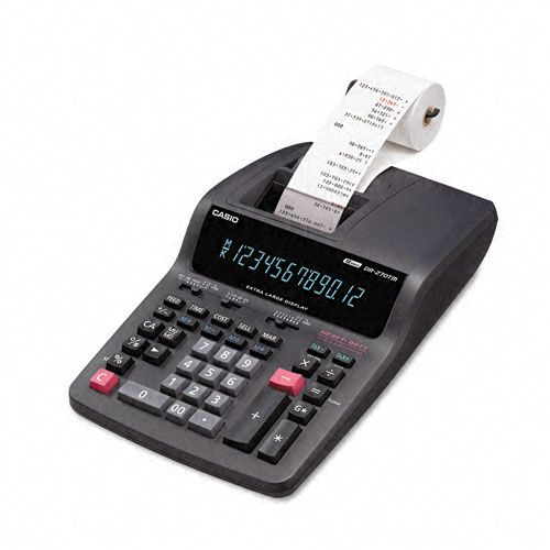 Casio DR270TM Desktop Calculator