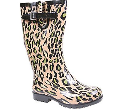 Women's Puddles - Tan Leopard