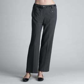 Larry Levine Women's Petite Belted Dress Pants at Sears.com