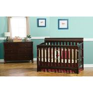Delta Childrens Eclipse 4 In 1 Espresso Convertible Crib at Sears.com