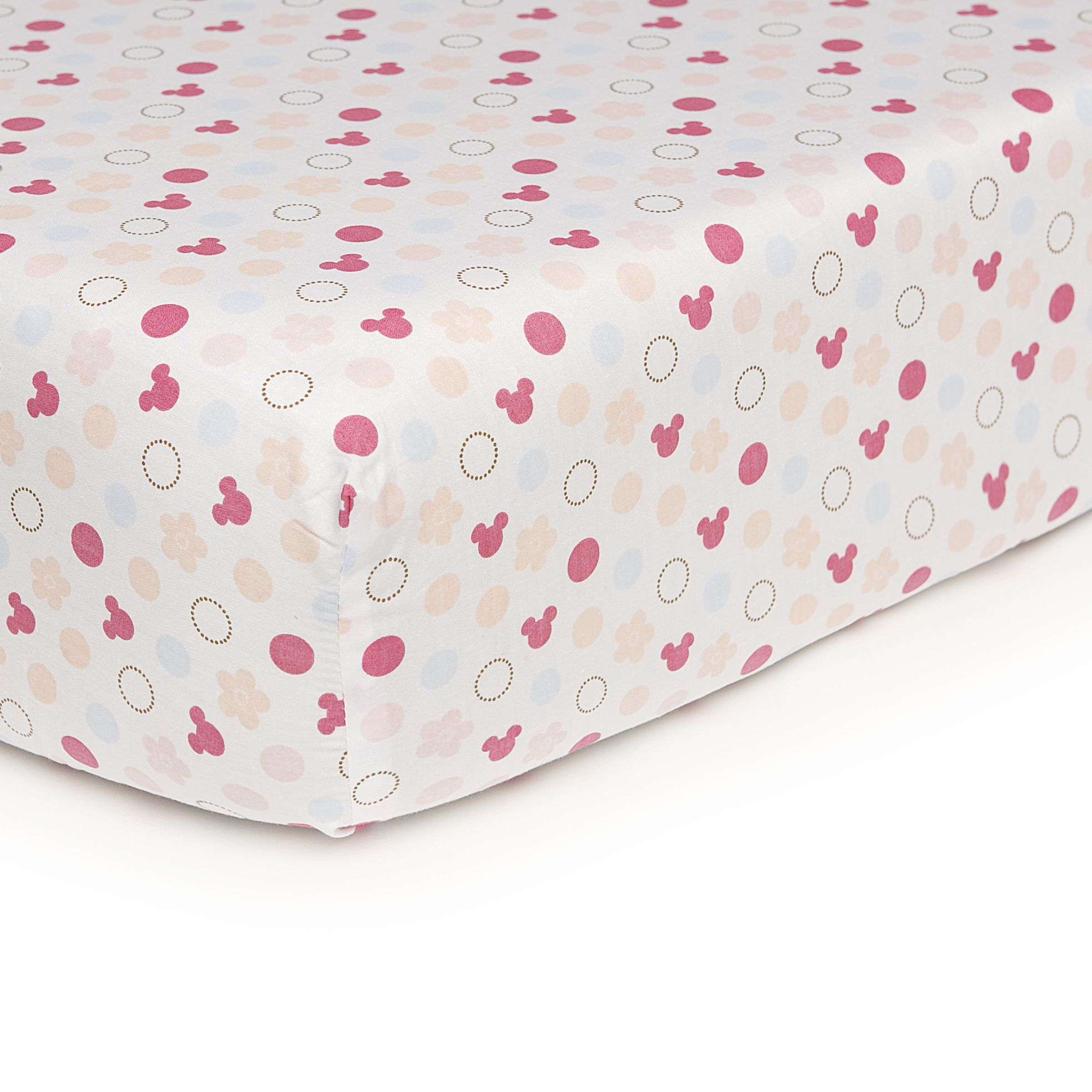 Minnie Mouse Fitted Sheet