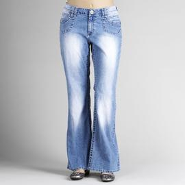 Angels Women's Plus Pork-Chop Pocket Flare Jeans at Kmart.com