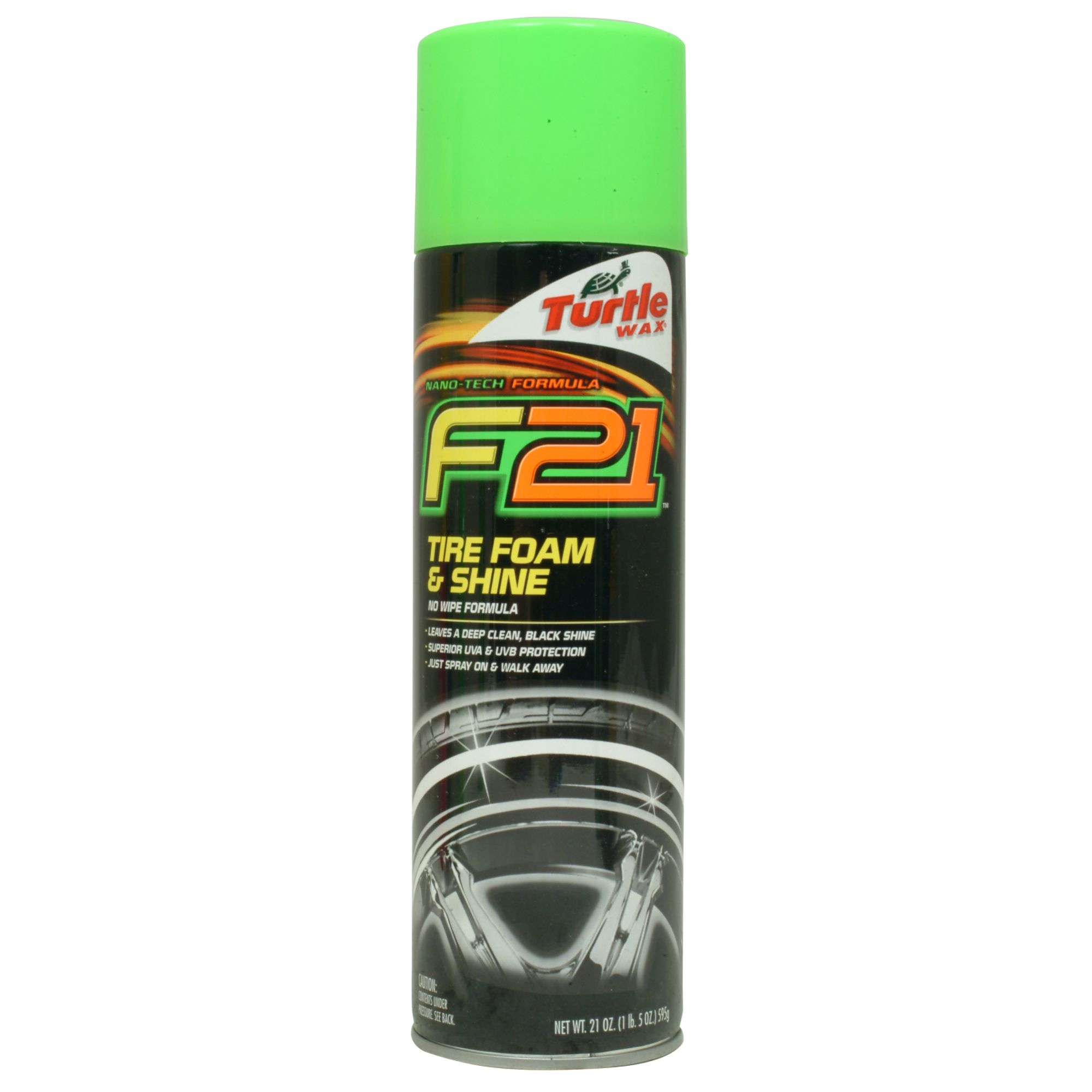 Turtle Wax Formula 2001 Tire Foam-N-Shine PartNumber: 082W825648110001P KsnValue: 82564811 MfgPartNumber: T49R