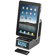 iHOME App-enhanced Dual Alarm Stereo Clock Radio for iPad / iPhone / iPod at Sears.com