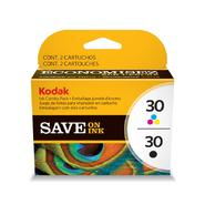 Kodak Ink Combo Pack #30 Black + #30 Color Series at Sears.com