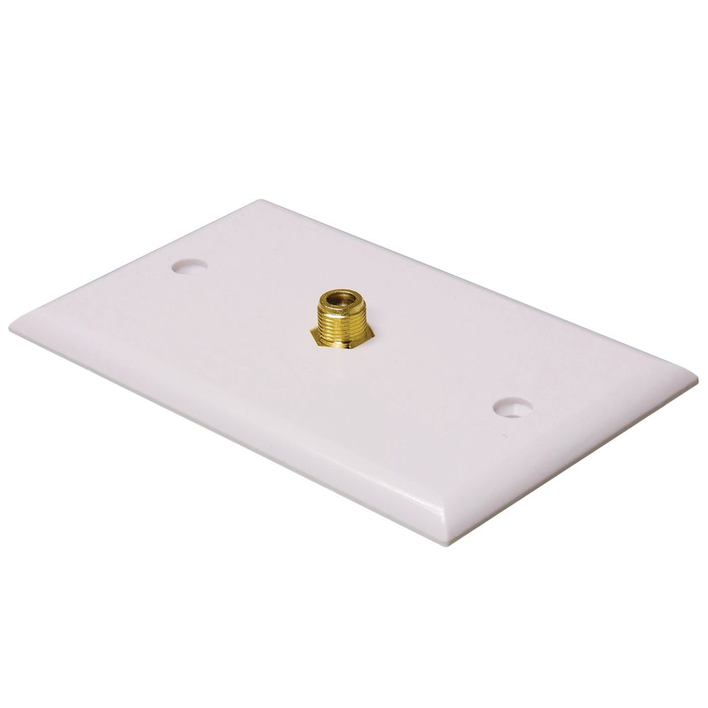 Philips  Coaxial Wall Plate Single