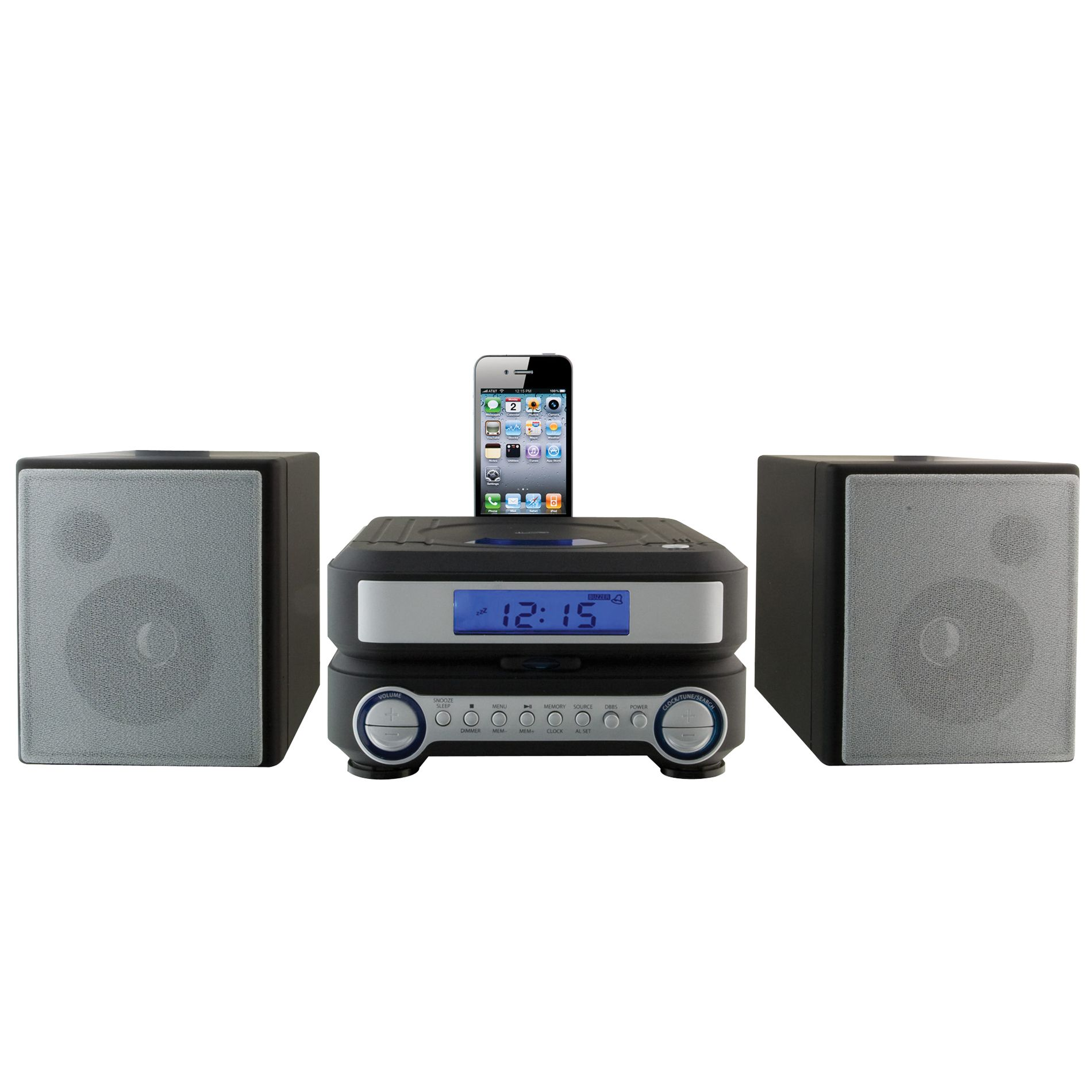 CD Home Music System for IPod and IPhone