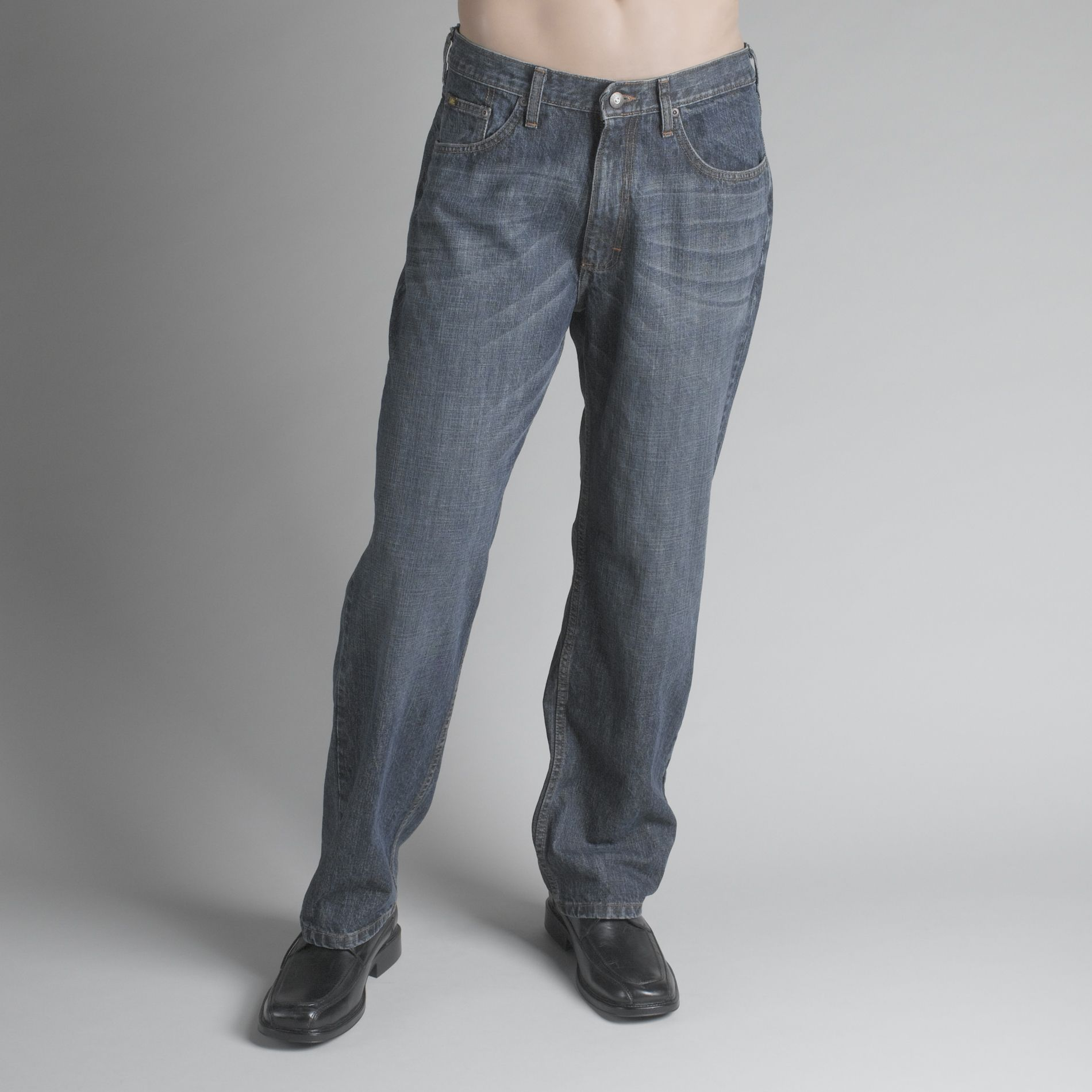 Men's Relaxed Straight Leg Jeans