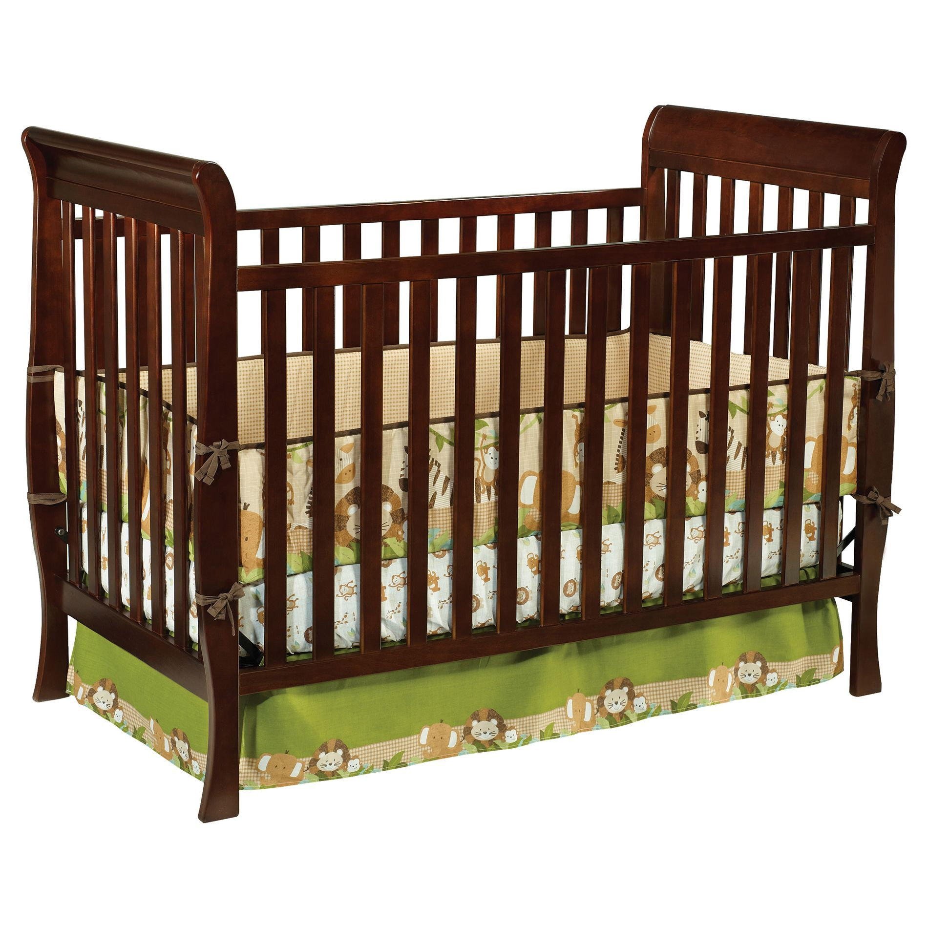 Columbia 3 in 1 Convertible Crib-Espresso