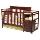Delta Childrens Houston Crib N Changer-Espresso