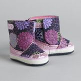 Little Wonders Girl's Glitter Encrusted Boots at mygofer.com
