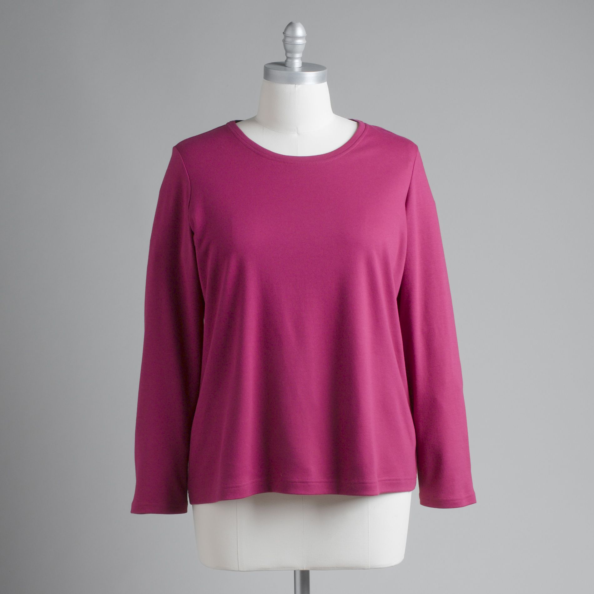 Women's Plus Long-Sleeved T-Shirt