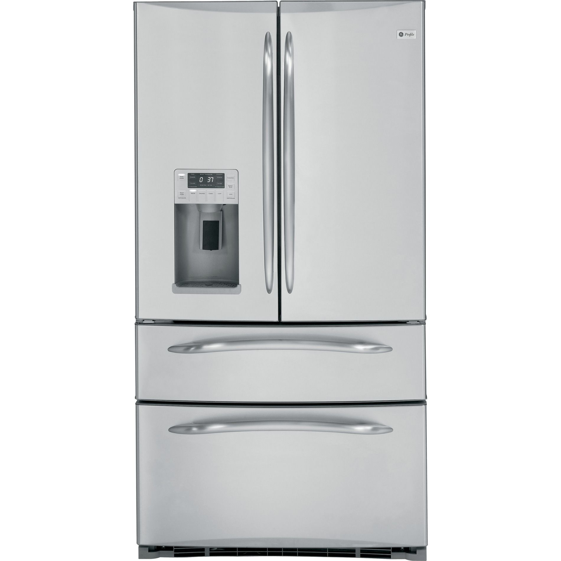 24.8 cu. ft. French-Door Bottom-Freezer Refrigerator - Stainless Steel