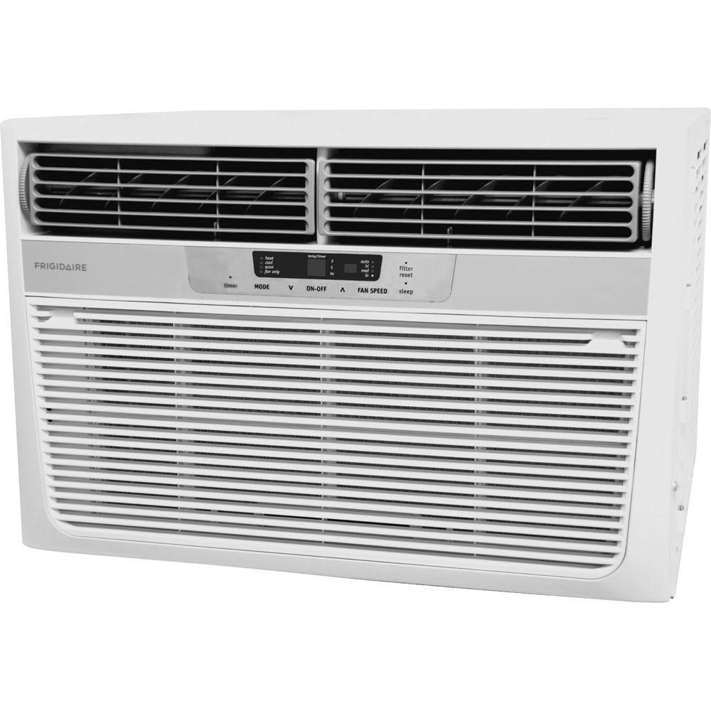 Frigidaire FRA12EZU2 12,000 BTU Cool/11,000 BTU Heat Compact Window Air Conditioner with Heat