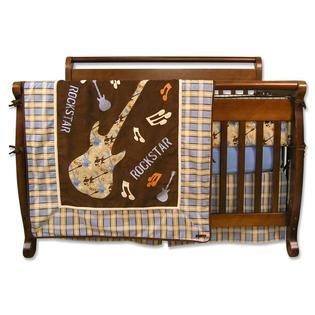 Trend Lab Rockstar 4 Pc Crib Set