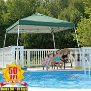 Shelter Logic 12x12 Pop-up Canopy Green Cover at Kmart.com
