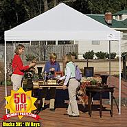 Shelter Logic 10x10 Open Top Pro Pop-up Canopy White Cover at Kmart.com