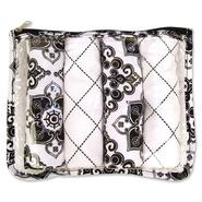 Trend-Lab Zip Pouch 4pk Burp - Black & White Versailles at Sears.com
