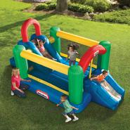 Little Tikes Jump 'n' Double Slide™ Bouncer at Kmart.com