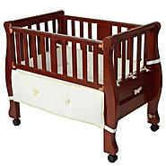 Arm's Reach® Arm's Reach® Sleigh Co-Sleeper® Bassinet Cherry at Sears.com