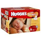 Huggies Little Snugglers Diapers, Size Newborn (Up to 10 lb), Disney Baby Winnie the Pooh 84 diapers