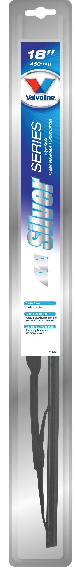 Valvoline  Silver Series Wiper Blade, 18 IN