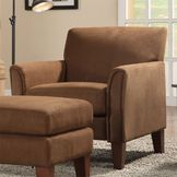 Oxford Creek Club Chiar in Mocha Finish at mygofer.com