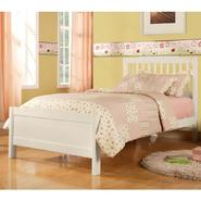 Oxford Creek Twin Bed in White at Kmart.com