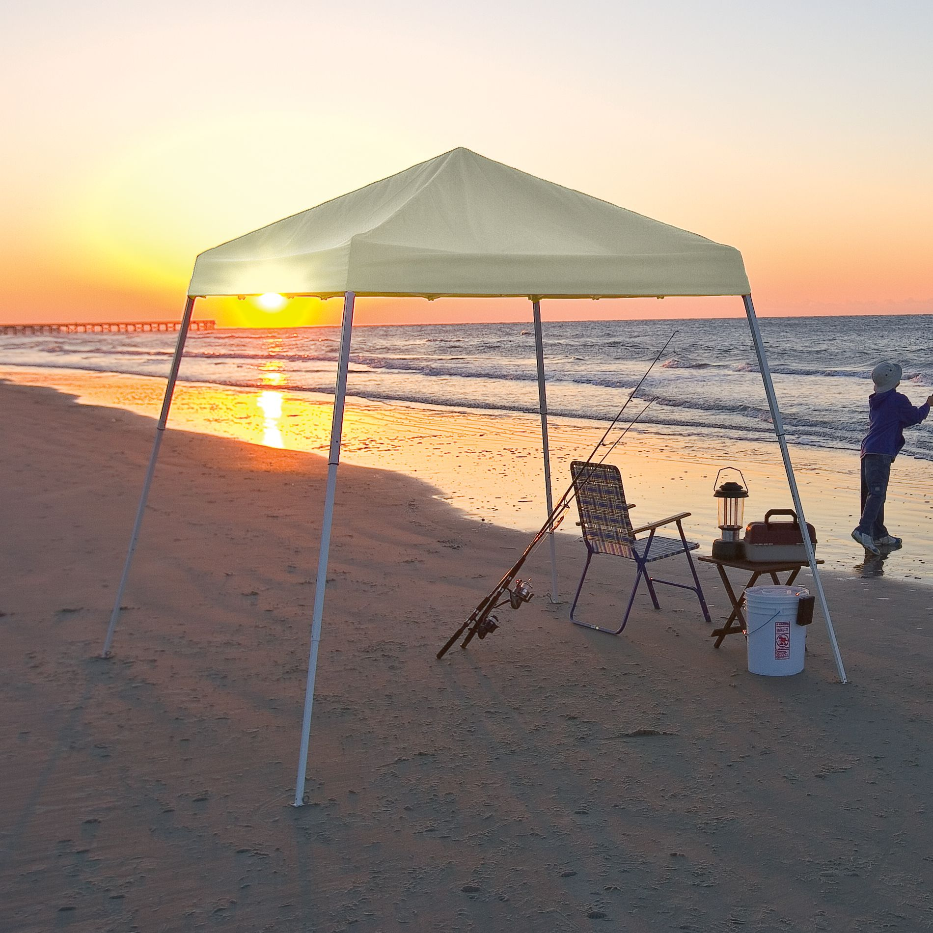 Shelter Logic  8x8 Pop-up Canopy White Cover
