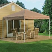 Shelter Logic 10x10 Open Top Pro Pop-up Canopy Desert Bronze Cover at Kmart.com