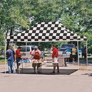 Shelter Logic 10x15 Truss Pro Pop-up Canopy Checkered Flag Cover at Kmart.com