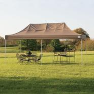 Shelter Logic 10x20 Truss Pro Pop-up Canopy Desert Bronze Cover at Sears.com