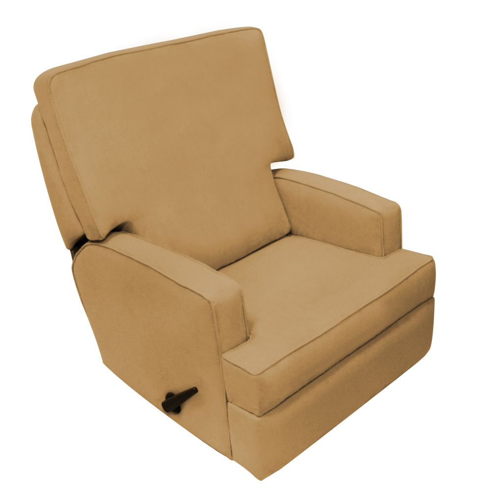 Studio Recliner Micro Tan