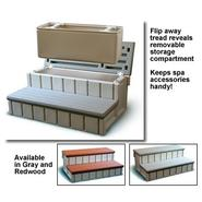 Confer Plastics Spa Step w/Storage - Gray at Sears.com