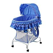Dream On Me, 2 in 1 Bassinet To Cradle, Blue at Sears.com