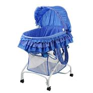 Dream On Me, 2 in 1 Bassinet To Cradle, Blue at Kmart.com